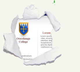 Webdesign project: Otorohanga