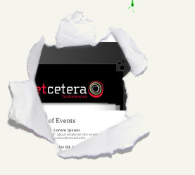 Webdesign project: etcetera